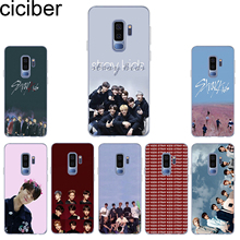 ciciber Phone Case for Samsung Galaxy S10 S10+ S10e Soft TPU Back Cover S9 S8 S7 S6 S5 Edge Plus S9+ Capa Stray Kids