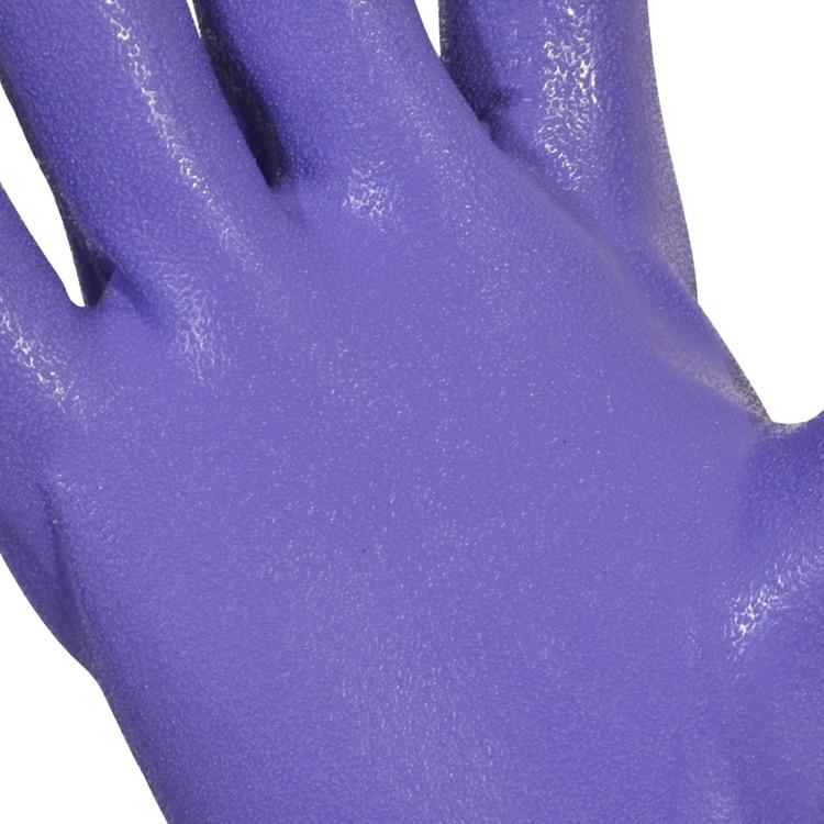 Envío gratis 3 pares de guantes de protección de PVC de 40 cm con - Juegos de herramientas - foto 4