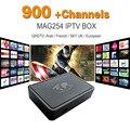 MAG 254 Europa IPTV Árabe Caixa De Iptv Céu Itália REINO UNIDO DE Linux caixa Para A Espanha Portugal Holanda Turco MAG254 250 Wi-fi Caixa de Tv IPTV
