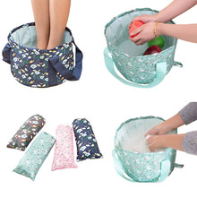 Mult Function Packing Organizers Foldable Travel Bag For Footbath Clothes Washing Fruits Washing Portable Travel Accessories