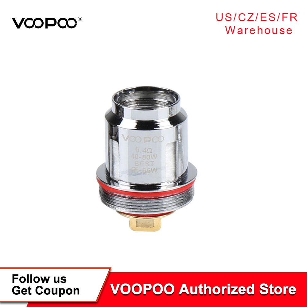 5PCS/Pack VOOPOO Uforce U2 U4 N1 N2 N3 P2 Replacement Coil For Voopoo Uforce Tank Voopoo Drag 2 kit Voopoo Drag mini KIt(China)