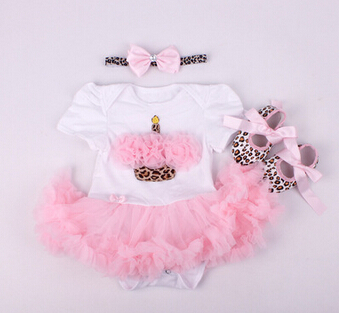 Dolls Clothes Wear Fit For 50-57cm Silicone Reborn Baby Doll Romper Dress Shoes Headband Clothes Set Doll's Cloth Accessories цена
