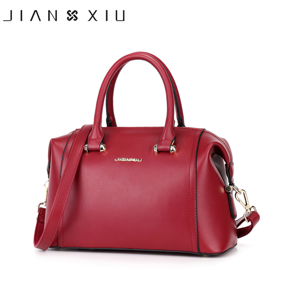 JIANXIU Women Bag Sac a Main Femme De Marque Bolsa Feminina Vintage Shoulder Bags Designer Handbags High Quality Pu Handbag Tote 2017 new vintage black women shoulder bags chain bag plaid trunk women handbag sac a main femme de marque nouvelle collection