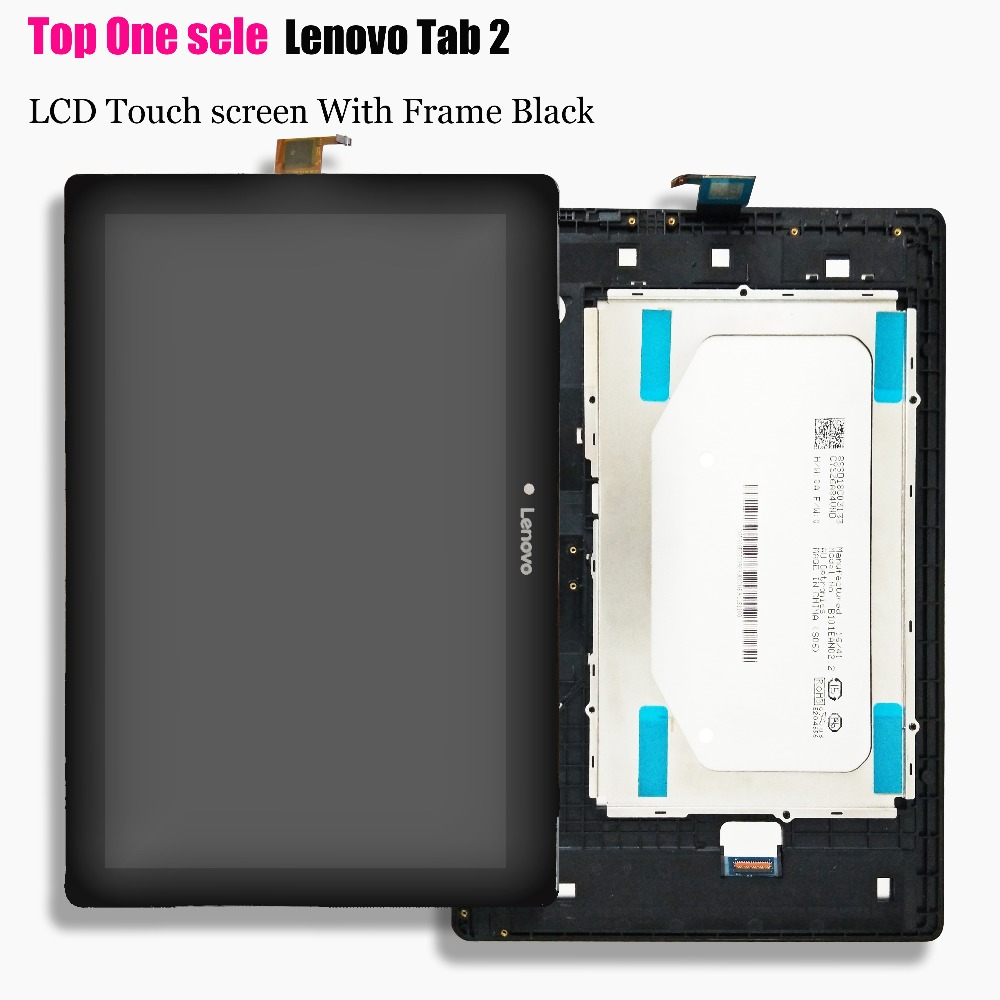 "Fo Lenovo Tab 2 A10-30 YT3-X30 X30F TB2-X30F tb2-x30l tb2-x30m a6500 10.1"" LCD Display Panel with Touch Screen Digitizer Assemb(China)"