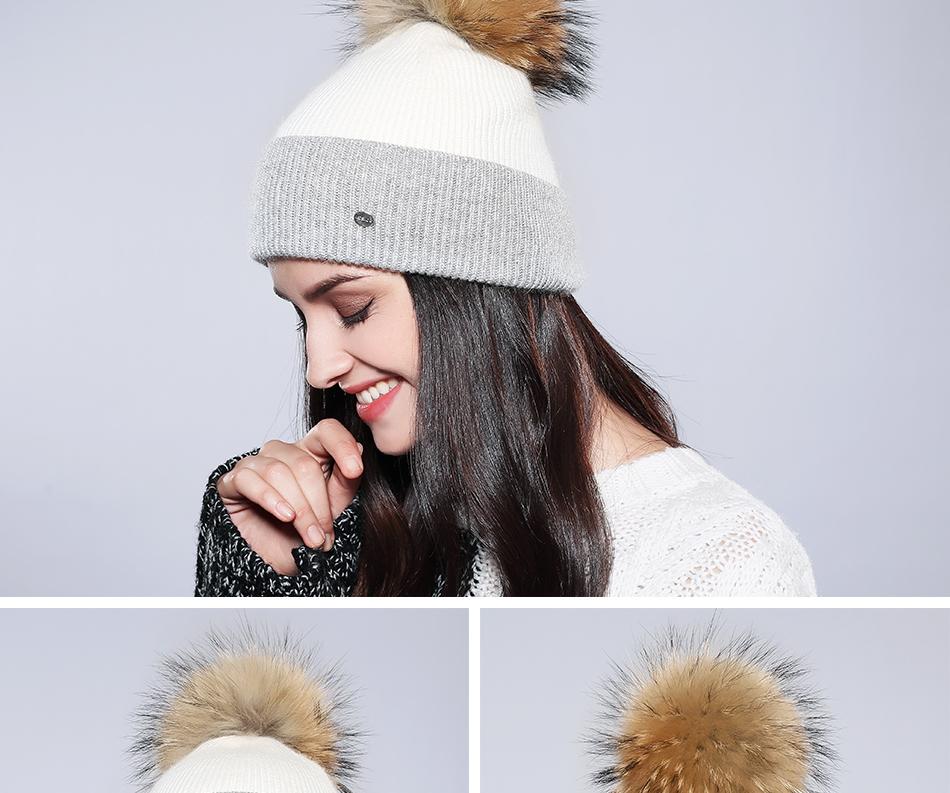 Winter Hat For Women MZ744 (7)