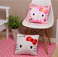 J.G Chen High Quality Lovely Hello Kitty Pillow Soft Hand Warmer Warm Stuffed Plush Hello Kitty Cushion 2 Color Plush Toys