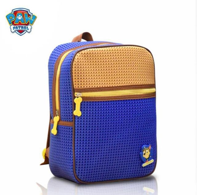 Genuine Paw Patrol Backpack Chase Skye Kids School Junior Bag For Nursery Toy Gift High