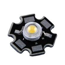 1 шт. 1 Вт 3 Вт высокое мощность светодиодный светильник PCB излучатель холодный белый теплый белый красный зеленый синий с 20 мм Звезда PCB