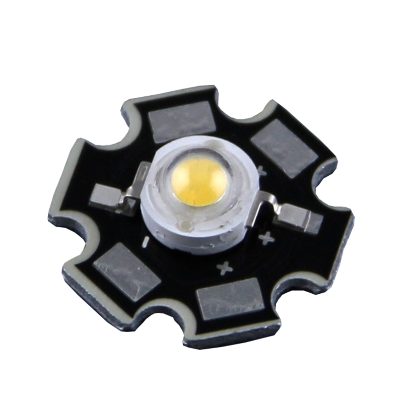 Freeshipping!1PCS 1W 3W High Power LED Chip Light PCB Emitter Cool White Warm White Red Green Blue With 20MM Star PCB