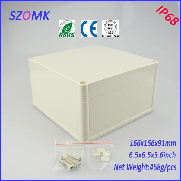 project case electronic enclosure (4 pcs)166*166*91mm enclosures for electronics distribution box waterproof plastic enclosure