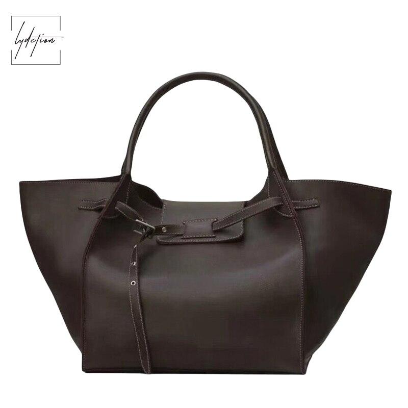 Lydztion Fashion Wings Pu Women Handbags Women Bags Designer Coffee  Retro Bag Woman Casual Totes Black Lock Big Messenger Bags