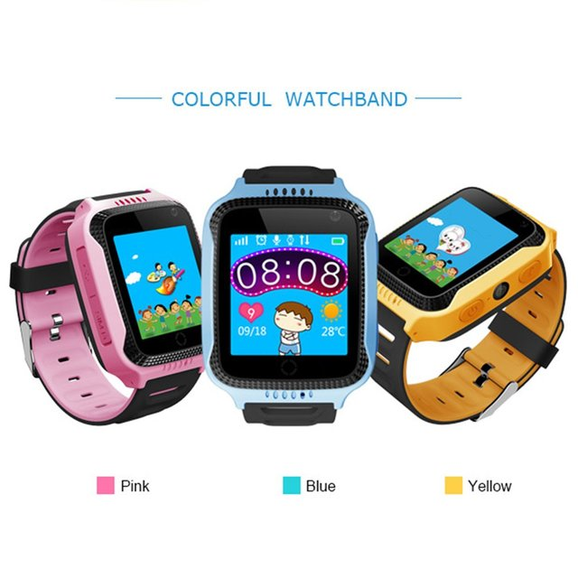 Waterproof GPS Location Wristwatch 1.44 inch Color Touch Screen Intelligent Posi