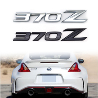 Brand New 370Z ABS Car Auto Emblem Badge Stickers For NISSAN 370Z Fairlady Z Z34 Chrome