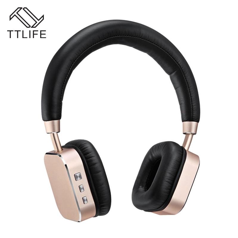 TTLIFE New Arrival A900BL Bluetooth Headphones Super Deep Wireless Smart Headband With Microphone 3D Surround Stereo Sound cs067b bl new