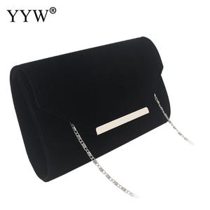 Image 5 - beige Clutch Bags For Women envelop handbags wedding party clutches 2019 Female Sac A Main blue female with chain clutch bag