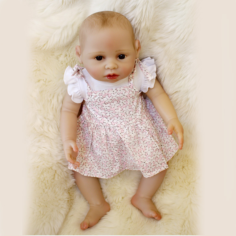 40cm Silicone Bebe Reborn Boy Doll Reborn Adora Reborn Toddler Girl Doll Princess SDK-102P1 Gifts Kids Toy Girls 3 year Toys new 22 adora reborn toddler doll with red layered dress high quality princess girl doll toy gifts fashion dolls toys for girls