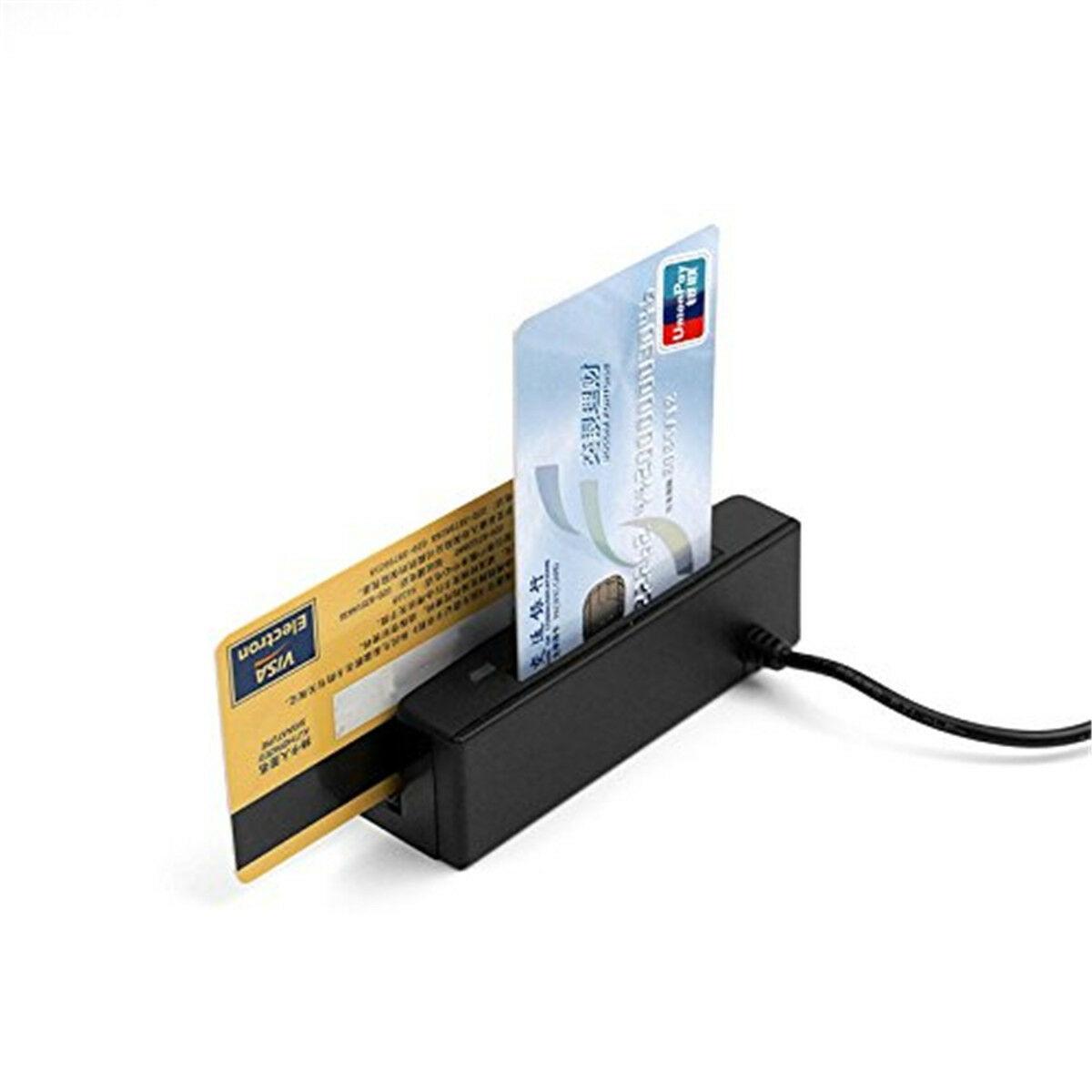 USB universel ZCS100-IC USB bande magnétique carte lecteur de code à barres bande bidirectionnelle MSR carte 3 pistes EMV Smart IC lecteur de puce