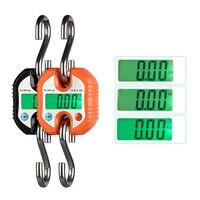 Balanzas electrónicas 150 KG Escala de La Grúa Industrial Gancho Colgando de Peso Digital Display LCD de Equipaje Escalas CLH @ 8