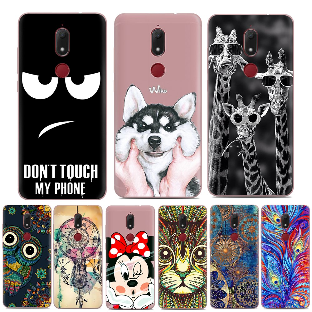 for coque wiko view prime case luxury cartoon tpu case for fundas wiko view prime soft silicone. Black Bedroom Furniture Sets. Home Design Ideas