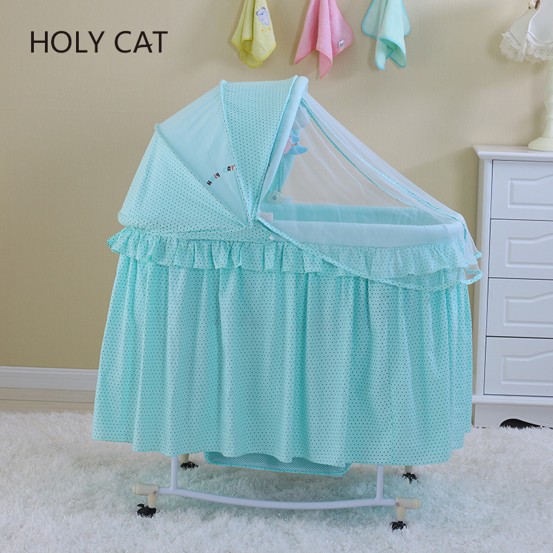 Du Holycat, Multifunctional Baby Stroller, Crib, Cradle, Cloth Dc-212 Iron Factory