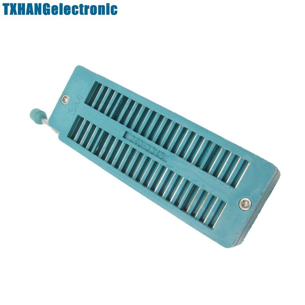 1PCS Socket 40P 40Pin ZIF ZIP IC Test Tester Board Socket  new