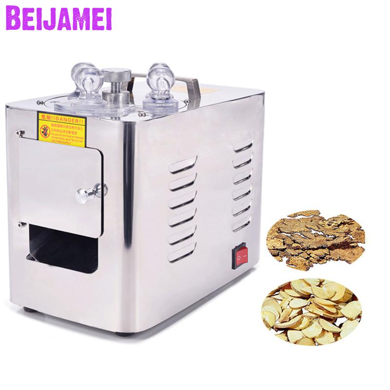 BEIJAMEI High Efficiency Commercial Medicine Ginseng Slicer Electric Chinese Herb Slicing Cutter Machine PriceBEIJAMEI High Efficiency Commercial Medicine Ginseng Slicer Electric Chinese Herb Slicing Cutter Machine Price
