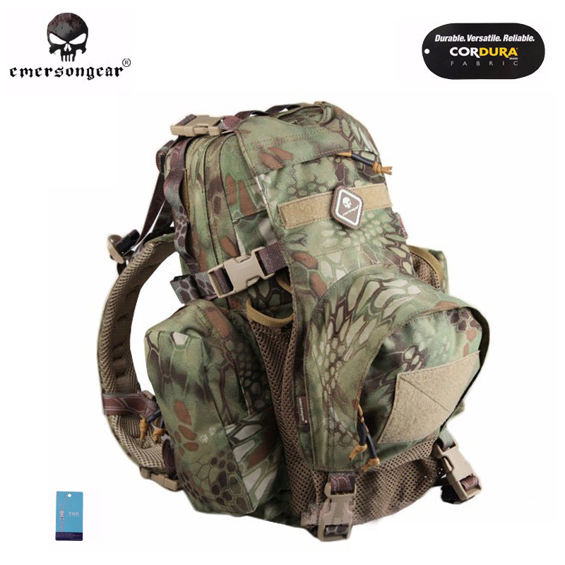 Emersongear Yote Rucksack Hydration Tactical Bag 1000D Cordura Molle Military Tactical Backpack Shoulder Hunting Bag MR emerson yote rucksack hydration tactical bag 1000d cordura molle military tactical backpack shoulder hunting bag highlander