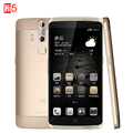 """Оригинал ZTE Axon A2015 Мобильный Телефон Snapdragon 3 ГБ RAM 32 ГБ ROM 4 Г FDD-LTE 5.5 """"FHD Двойной Задней Камеры отпечатков пальцев 3000 мАч"""