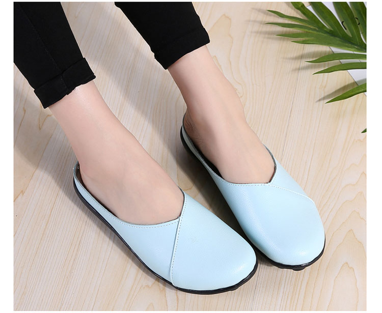 AH 9918-2018 New Women Flats Loafers Shoes-19