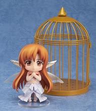 Anime Sword Art Online Asuna PVC Action Figure Nendoroid 382 Asuna Titania ver Cute Figure Doll