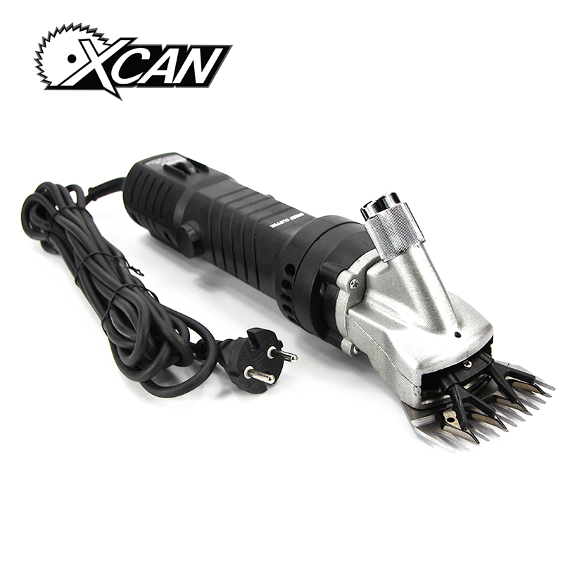 XCAN New 350W Electric Clipper Shear Sheep Goats Alpaca Farm Shears low noise speed adjustment electric pusher electric scissors hot selling 1pcs lot new 350w electric sheep goats shearing clipper shears electric wool shear