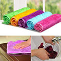 100%Bamboo Charcoal Fiber Cleaning cloths Dishcloth Washing Rags Feminine Hygiene Product