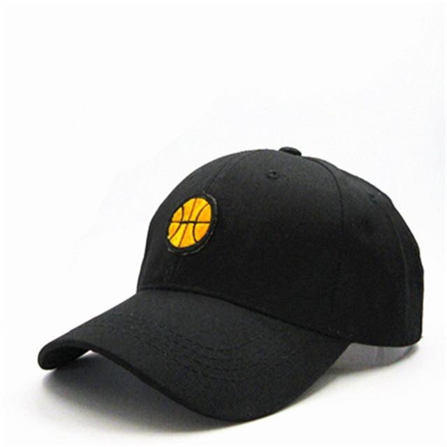 basketball pattern embroidery cotton Casquette Baseball Cap hip-hop cap Adjustable Snapback Hats for kids men women 306