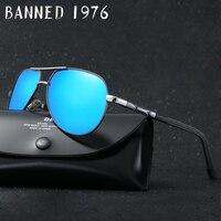 2017 Latest Fashion HD Polarized Outdoor Men Sunglasses Brand Designer Metal Classic Driving Sun Glasses