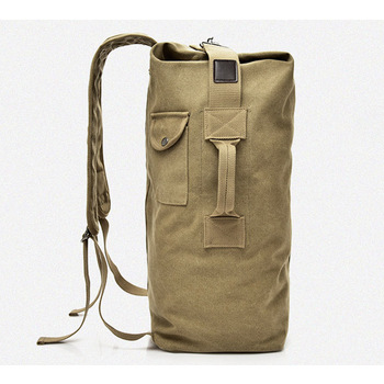 Large Travel Climbing Bag Tactical Military Backpack Women Army Bags Canvas Bucket Bag Shoulder Sports Bag Male Outodor XA208WD 4