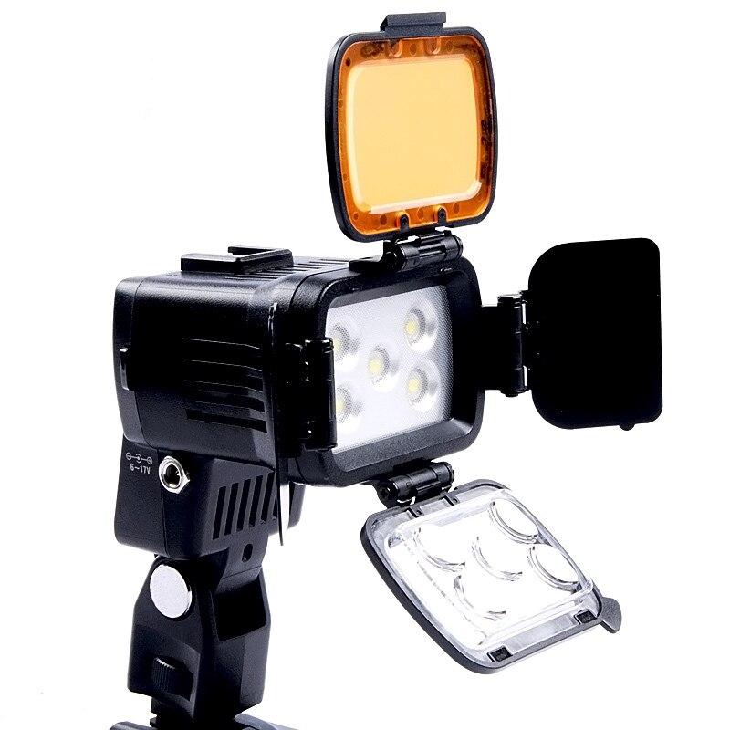 LED-VL002B 10 Вт 750LUX Диммер LED Видеокамера DV Видео Свет Лампы 5500 К/3200 К Бесплатная Доставка