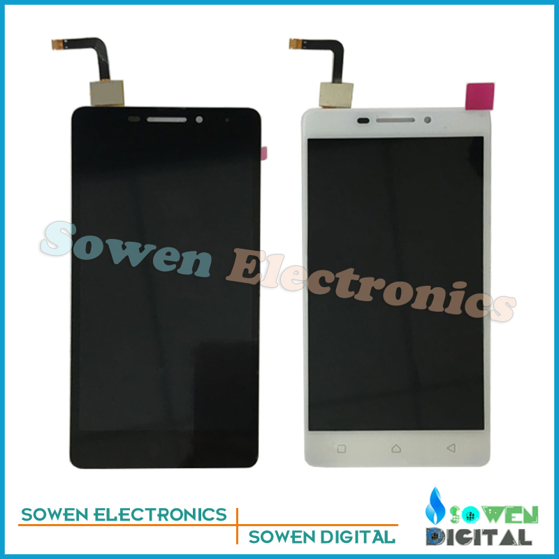 for Lenovo VIBE P1m P1ma40 P1mc50 TD-LTE LCD display with Touch Screen digitizer assembly full sets , Black or white ,tools аксессуар чехол lenovo k10 vibe c2 k10a40 zibelino classico black zcl len k10a40 blk