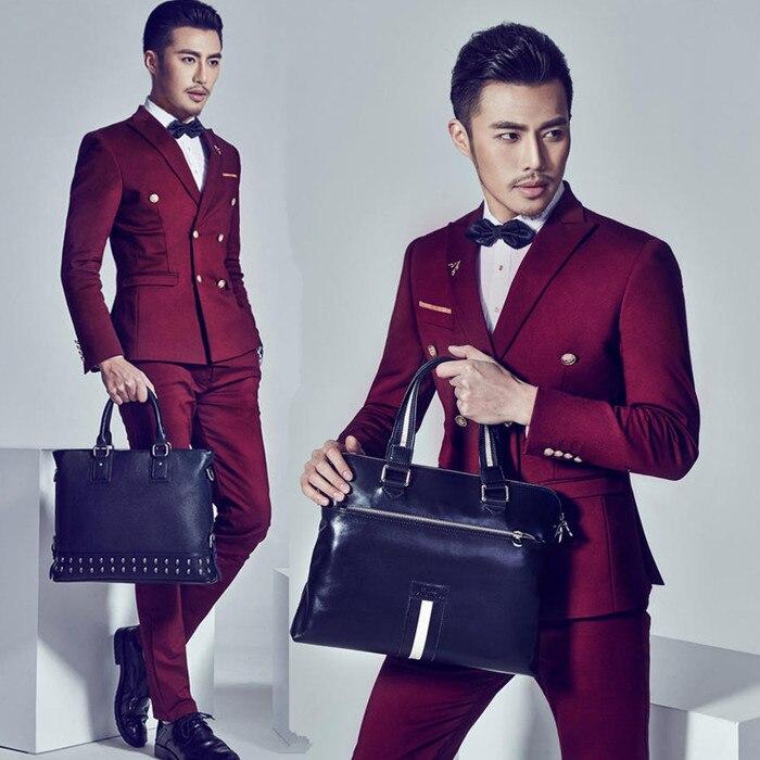 Vestido formal traje masculino Delgado trajes de boda para hombres ...