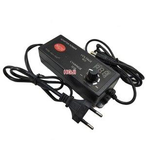 Image 3 - AC/DC Adjustable Power Adapter Supply 3V 12V 4A 5A Speed Control Volt Display 12v 5a LED driver 3.3v 4v5v8.4v5a dimmabledriver
