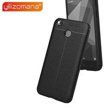 YILIZOMANA Lichee Pattern Phone Case Soft TPU Back Cover for Xiaomi Redmi 3S 4 4A 4X 4S Pro 5 5A Plus 6 6A Note S2 Mi A2 Lite shining rhinestone piano pattern plastic back case for iphone 4 4s silver