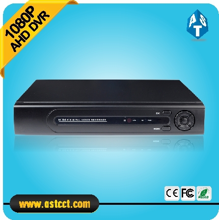 New Arrival 1080P AHD-H 4 Channel AHD DVR Recorder 3 in 1 Hybrid DVR H.264 video compression P2P Cloud Surveillance iain richardson e the h 264 advanced video compression standard