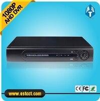 Nova Chegada 1080 P AHD AHD-H 4 Canais Gravador DVR 3 em 1 Híbrido DVR H.264 de compressão de vídeo P2P Nuvem vigilância