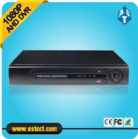 New Arrival 1080P AHD H 4 Channel AHD DVR Recorder 3 In 1 Hybrid DVR H