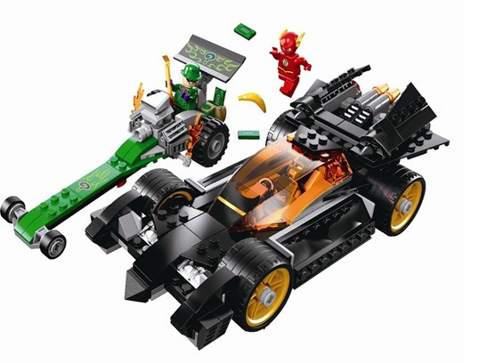 Bela 10227 Super Heroes Batman: The Rid Block Brick Toy Boy Game DC Motorcycle Gift Compatible with Lepin Decool 76012