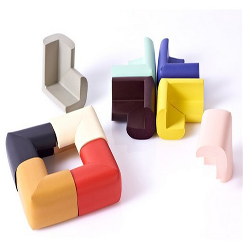 10Pcs/lot Children Protection Corner Soft Table Desk Children Safety Corner Baby Safety Edge Guards 55*55mm