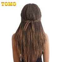 Refined 18Inch 30Roots Pack Crotchet Braids 16 Colors Synthetic Senegalese Twist Crochet Hair Extensions 5Packs Lot