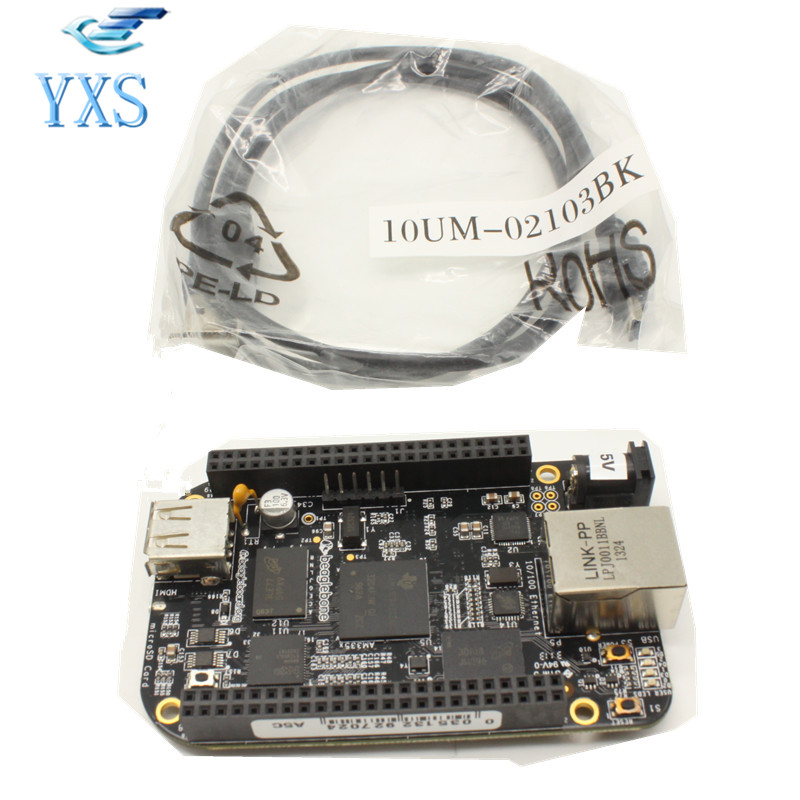 AM335X Cortex A8 Development Board cubieboard a8 1gb arm cortex a8 development board w sata usb to tll serial cable white