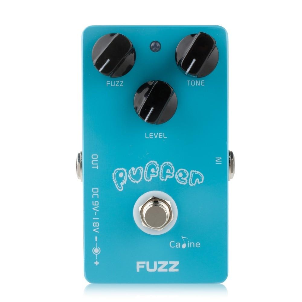 Caline CP-11 Puffer FUZZ Guitar Effect Pedal Mini CP11 Guitar Pedals - Երաժշտական գործիքներ - Լուսանկար 1