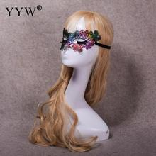 Sexy Lace Masquerade Mask Half Face Prom Party Masks Colorful For Carnival Halloween Masker Festive Supplies