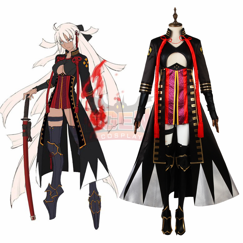 Game Fgo Fate Grand Order Saber Okita Souji Alter Cosplay Costume Adult Outfit Custom Made Game Costumes Aliexpress